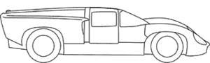 miniature de voiture Jaguar D TYPE.S CAR #12 1954 (Exoto 88001) Exoto Quirao idées cadeaux