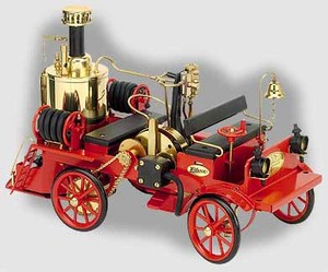 model steam engine D305 - Mobile Steam Fire Engine Wilesco