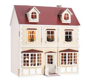 Europa version kit maison de poup e - Maison de poupee en bois a construire ...