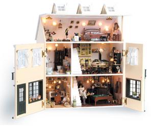 Doll house london artesania latina - Grande maison de barbie ...