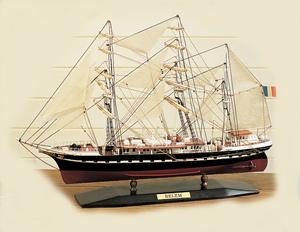 maquette de bateau, voilier, runabout Belem 45 cm  Quirao idées cadeaux