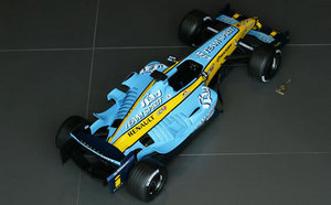 renault r25 maquette de formule 1 au 1 6e apole. Black Bedroom Furniture Sets. Home Design Ideas