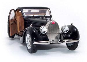 miniature de voiture Bugatti 57C Atalante porte ouverte Heco Miniatures Quirao idées cadeaux