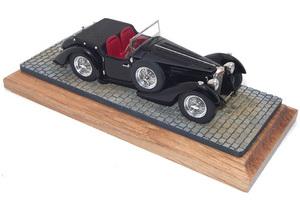 miniature de voiture Bugatti 57S Tourer Heco Miniatures Quirao idées cadeaux
