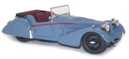 miniature de voiture Bugatti 57 Tourer Van den Plas Heco Miniatures Quirao idées cadeaux