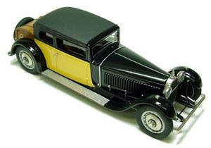 miniature de voiture Bugatti Royale design Weymann Heco Miniatures Quirao idées cadeaux