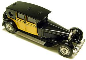 miniature de voiture Bugatti Royale  Berline  Heco Miniatures Quirao idées cadeaux