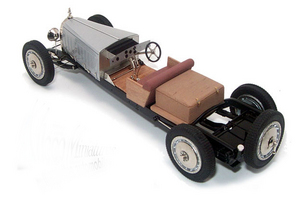 miniature de voiture Bugatti Royale - Chassis Heco Miniatures Quirao idées cadeaux