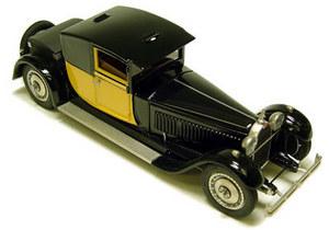miniature de voiture Bugatti Royale Coupé Fiacre Heco Miniatures Quirao idées cadeaux