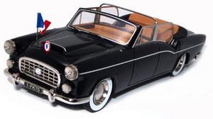 miniature de voiture Citroën Traction 15Cv Chapron Présidentielle Heco Miniatures Quirao idées cadeaux