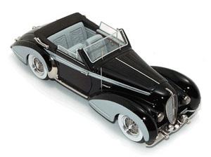 miniature de voiture Delahaye 135 Chapron Cabriolet Miniatures du Chateau Quirao idées cadeaux