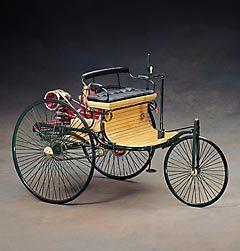 miniature de voiture Benz 1886 (1er brevet voiture) The Franklin Mint Quirao idées cadeaux