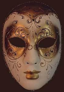 Masque v nitien de f te volto decor aria - Masque venitien decoration ...