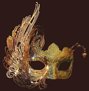 Venetian mask Cignetta Blue Moon Mask