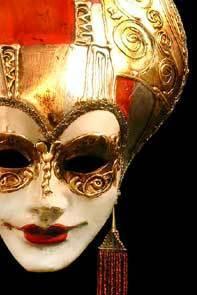 masque de Venise Liberty Art Deco petit masque Carta Alta Quirao idées cadeaux