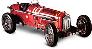 miniature de voiture Alfa Romeo P3 scuderia Ferrari (KIT pré-paint) Revival Quirao idées cadeaux