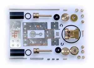 machine à vapeur Andreas, mini-moteur à vapeur, Kit Lutz Hielscher Quirao idées cadeaux