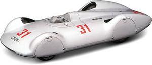 miniature de voiture Auto-Union AVUS record #31 1937 (KIT pré-paint) Revival Quirao idées cadeaux