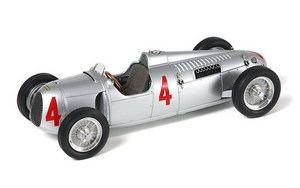 miniature de voiture Auto Union C type #4  1936 (CMC-M073) CMC Modelcars Quirao ides cadeaux