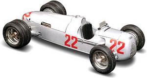 miniature de voiture Auto Union  tipo C 1936/37 ruote gemell. (KIT pré-paint) Revival Quirao idées cadeaux