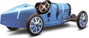 miniature de voiture Bugatti 35 1924/26 (KIT pré-paint) Revival Quirao idées cadeaux