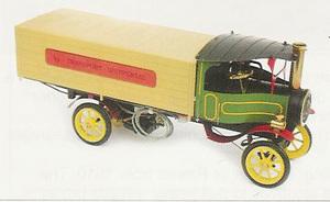 machine à vapeur Camion Foden à vapeur, Kit Lutz Hielscher Quirao idées cadeaux