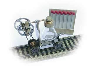 train miniature Draisine H0 Lutz Hielscher Quirao idées cadeaux