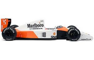 miniature de voiture F1-MP4/6 #1 A.Senna 1991 (Exoto 97121) Exoto Quirao idées cadeaux