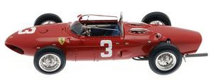 miniature de voiture Ferrari 156 F1  1961 #4 Phil Hill 1er Spa (CMC-M070) CMC Modelcars Quirao idées cadeaux