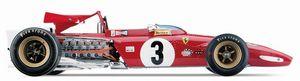 miniature de voiture Ferrari 312 B (Exoto 97060) Exoto Quirao idées cadeaux