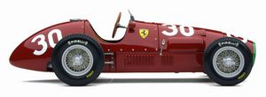 miniature de voiture Ferrari 500 F2 1952 capot court #30 Taruffi 1er GP Suisse Exoto Quirao idées cadeaux