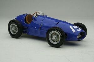 miniature de voiture Ferrari 500/625 1954 #15 bleue GP Silverstone, Rosier Exoto Quirao idées cadeaux