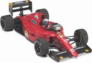 miniature de voiture Ferrari 641/2 1990 #1 Prost écran essais Exoto Quirao idées cadeaux