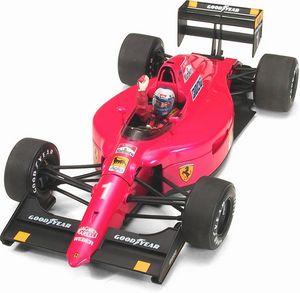 miniature de voiture Ferrari 641/2 1990 #1 rouge Exoto Quirao idées cadeaux