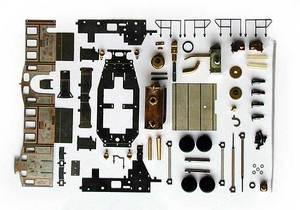 Live Steam model Glaskasten H0, Kit