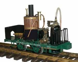 train miniature Loco USA Grasshopper 1830, échelles I, G (45 mm) Lutz Hielscher Quirao idées cadeaux