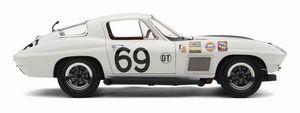 miniature de voiture Corvette Sting Ray TEAM GULF 1967 (Exoto MTB00072) Exoto Quirao idées cadeaux