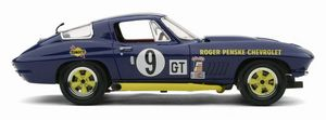miniature de voiture Corvette Sting Ray #9 Sebring 1966 R.PENSKE (Exoto MTB00073) Exoto Quirao idées cadeaux