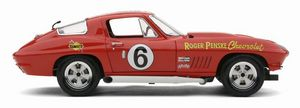 miniature de voiture Corvette Sting Ray #6 Daytona 1967 R.PENSKE (Exoto MTB00074) Exoto Quirao idées cadeaux