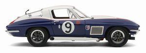 miniature de voiture Corvette Sting Ray Le Mans 1967 #9 (Exoto MTB00076) Exoto Quirao idées cadeaux