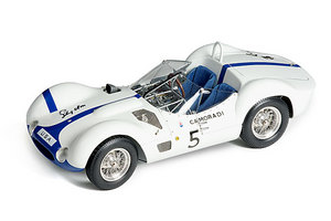miniature de voiture Maserati Birdcage 1960 signée Stirling Moss (CMC-M061) CMC Modelcars Quirao idées cadeaux