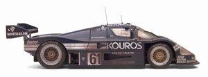miniature de voiture Kouros Mercedes C9 German Cup 1987 (Exoto 19192 FLP) Exoto Quirao idées cadeaux