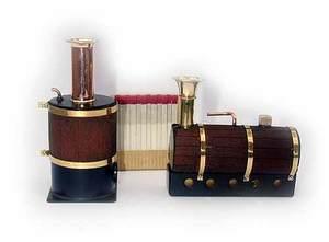 machine à vapeur Mini chaudière verticale Lutz Hielscher Quirao idées cadeaux