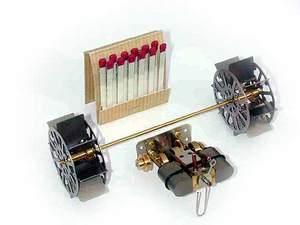 machine à vapeur Mini roue à aubes Lutz Hielscher Quirao idées cadeaux