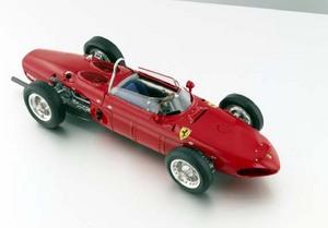 miniature de voiture Ferrari Dino 156F1, 1961  Sharknose  CMC Modelcars Quirao idées cadeaux