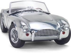 miniature de voiture Cobra Shelby 260 aluminium (Exoto 18120) Exoto Quirao idées cadeaux