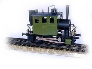 train miniature Loco Glaskasten à vapeur H0 Lutz Hielscher Quirao idées cadeaux