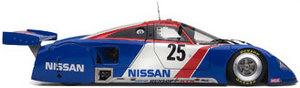 miniature de voiture Nissan R89C Le Mans 1989 Geoff Brabham, Chip Robinson, Arie Luyendyk Exoto Quirao idées cadeaux