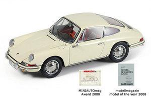 miniature de voiture Porsche 901 SLR 1964 ivoire CMC Modelcars Quirao idées cadeaux