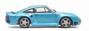 miniature de voiture Porsche 959  1985 bleu minéral (Exoto MTB00007) Exoto Quirao idées cadeaux